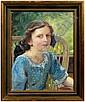 Anton Filkuka painting (Austrian, 1888-1957),