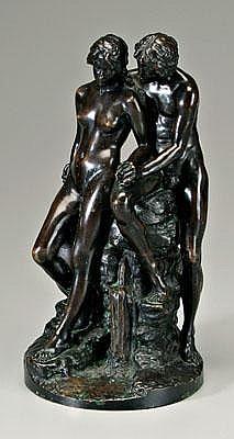 Reinhold Boeltzig bronze (German, 1863-1939),