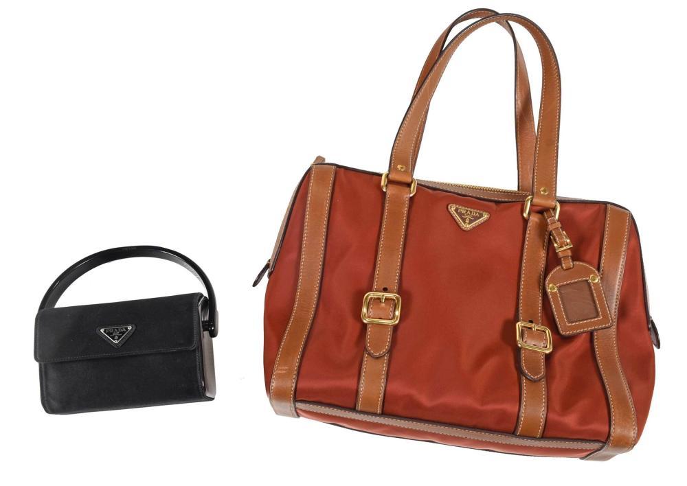 Two Prada Bags