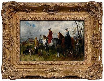 Helene Buttner painting (Austrian, 1861-1947),