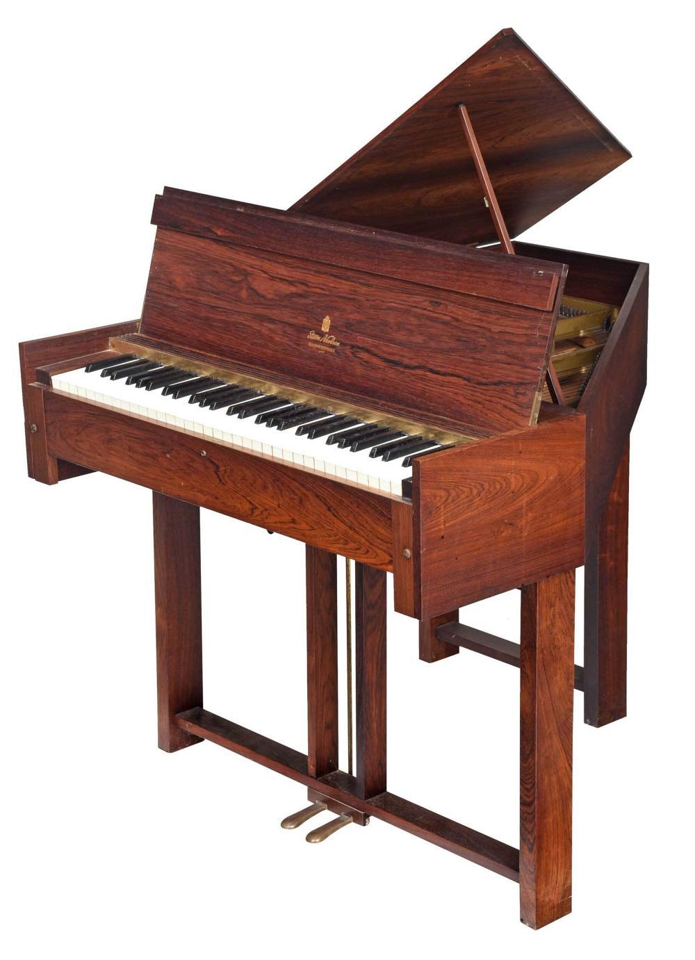 Steen Nielsen Mid Century Modern Rosewood Piano
