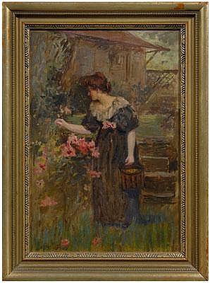 Joseph W. Gies painting (Michigan, 1860-1935),