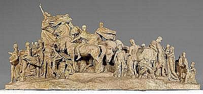 Pietro Montana sculpture (Italian/New York,