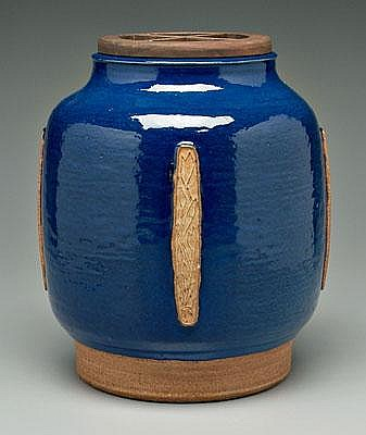 Jorgen Mogensen pot (Danish, born 1927), rounded