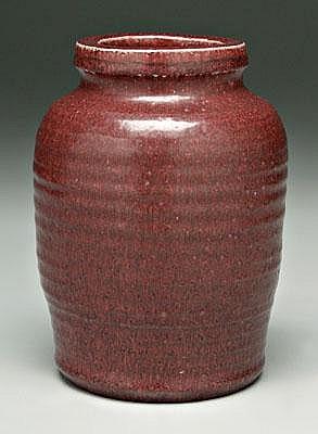 Jorgen Mogensen vase (Danish, born 1927), mottled