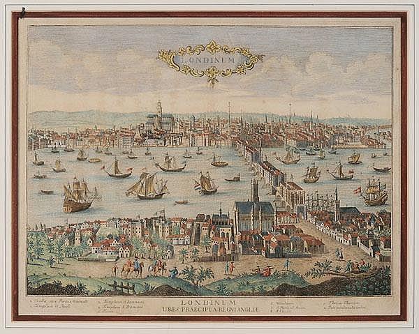 18th Century London Engraving