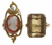 Two Vintage Rings