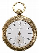 Tobias & Co. 14 Kt. Gold Pocket Watch