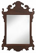 Chippendale Mahogany Wall Mirror