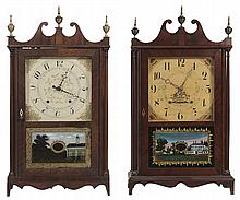 Eli Terry Pillar-and-Scroll Clock,