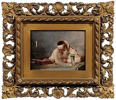 Richard Linderum painting (German, born 1851),