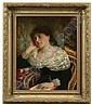 Painting by Karl Witkowski (New Jersey, Karl Witkowski, Click for value