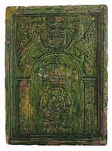 Important Elizabethan Green-Glazed