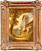 Heinrich Berger painting (German, born 1898), two, Heinrich (1898) Berger, Click for value