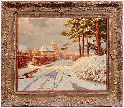 Boris Bessonof Russian painting (Russian,