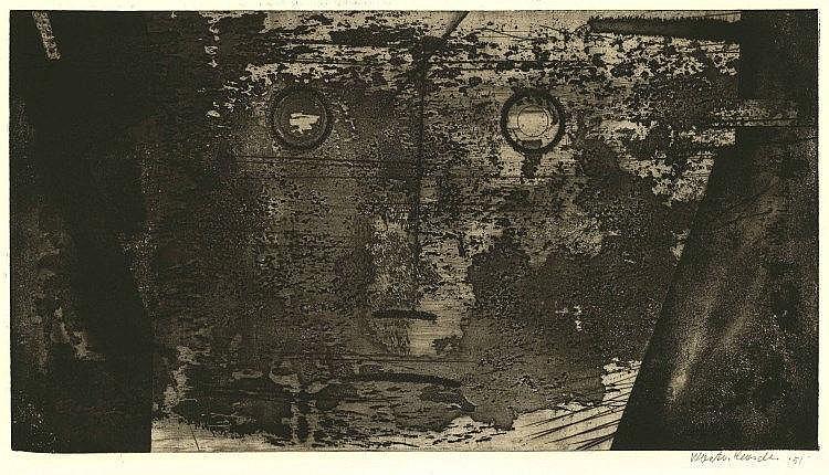 Heusden, W.B. van (1896-1982). Geschonden aangezic