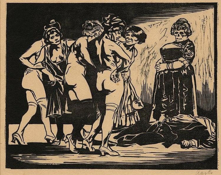 Aarts, J.J. (1871-1934). Moord in een bordeel. Woo