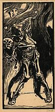 Aarts, J.J. (1871-1934). (Death as a jester with c