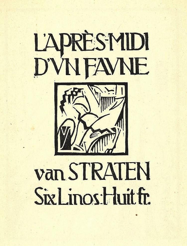 Straten, H. van (1892-1944). l'Après-midi d'un fau