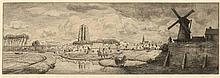 Dingemans, W.J. (1873-1925). (Panorama of Zierikze