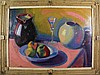 Koning, R. (1898-1985). (Still-life with jar, glas, Roeland Koning, Click for value
