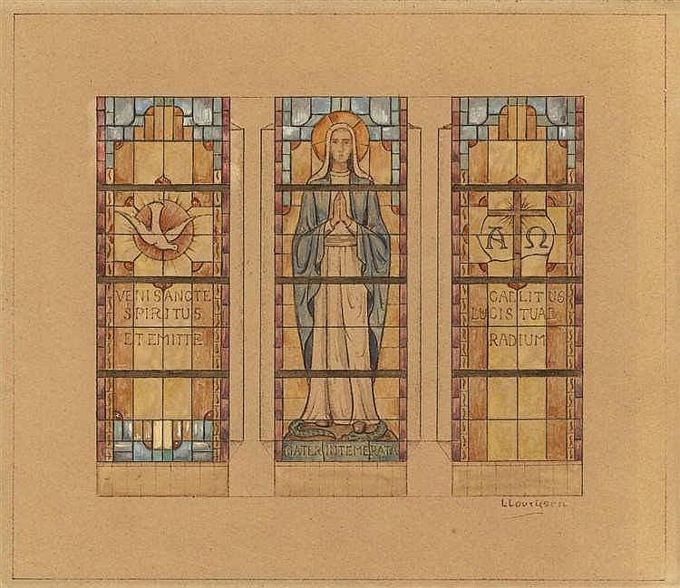 Lourijsen, L.C.T. (1885-1950) (attrib.). (Saint).