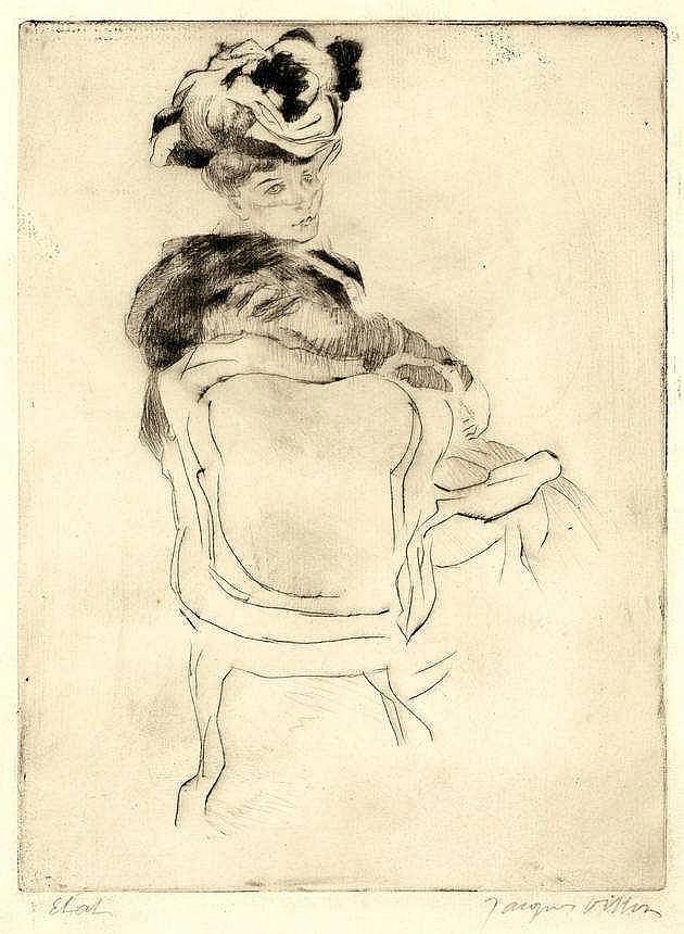 Villon, J. (= Duchamp, G.) (1875-1963). La parisie