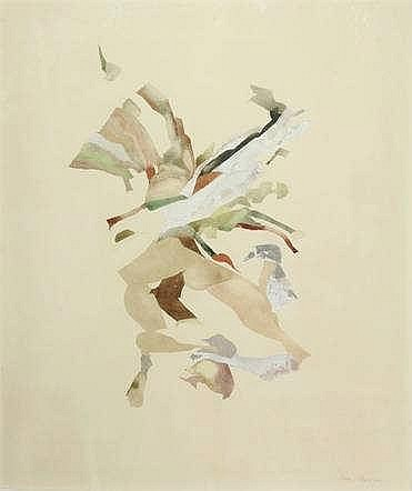 Plaat, H.E. (b.1936). (Abstract dynamic compositio