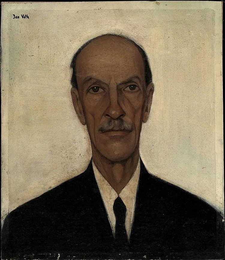 Veth, J.P. (1864-1925) (?). (Portrait of an uniden