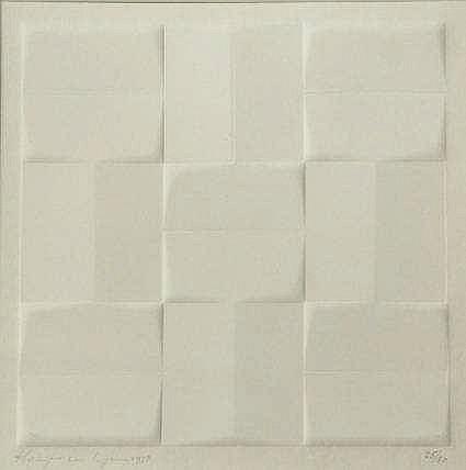 Kuyk, H.J. van (1929-2008). (Geometrical compositi