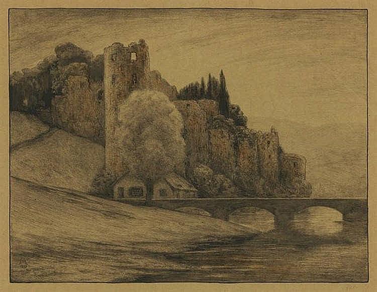 Moulijn, S. (1866-1948). Le Chateau de Beaufort. C