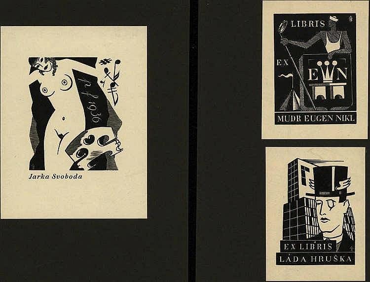 Burka, A. (1886-1947). Uzitková grafika Antonína B