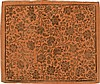 [Paper. Decorated paper]. Brocade paper, orange pa, Johann Carl Munck, Click for value