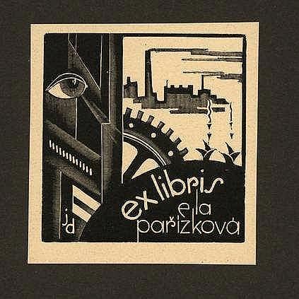 Dobrovolsky, J. (1895-1942). 30 ex libris Puvodní