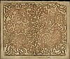 [Paper. Decorated paper]. Brocade paper, sheet w., Johann Carl Munck, Click for value