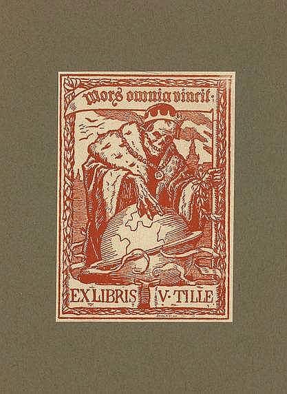 Novák, L. (1865-1944). Ex Libris Ládi Nováka 1900-