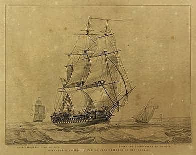 [Ships]. Hoogkamer, W.H. (1790-1864).