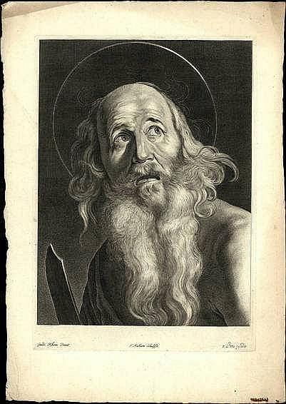 Matham, T. (1605/1606-1676). St. Bartholomew. Engr