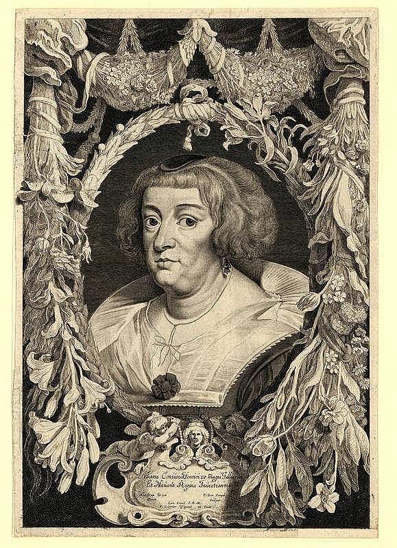 Sompel, P. van (±1600-±1650). Marie de Médicis. Et