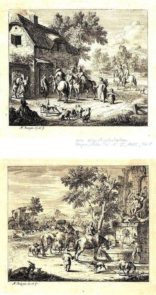 Bargas, A.F. (act. ±1692). Das Rendezvous zur Jagd