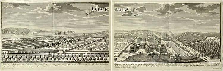 [Germany. Ludwigsburg]. Corvinus, J.A. (1682-1738)