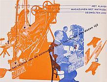 Zwart, P. [Nijgh & Van Ditmar]. Reclame. Rott., Nijgh & Van Ditmar N.V., n.