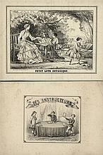 [Games and toys]. Loto de l'histoire sainte. Lithogr. title plate and 10 (o