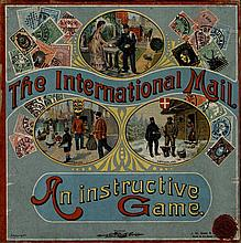 [Games and toys]. The International Mail. An instructive game. London, J.W.