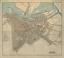 [Atlases]. Plattegronden van Steden. N.pl., A.N.W.B., 1906, (3)p., 37 doubl