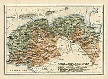 [Atlases]. Kuyper, J. Atlas van Nederland volgens de nieuwe spelregels. Haa