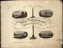 [Atlases]. Lorrain, A. La France et ses Colonies. Atlas Départementale. Ver