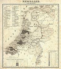 [Atlases]. Frijlink, H.A. (introd.). Sterfte-Atlas van Nederland, uitgegeve