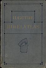 [Atlases]. Guthe, H. Bibelatlas in 20 Haupt- und 28 Nebenkarten. Leipsic, H