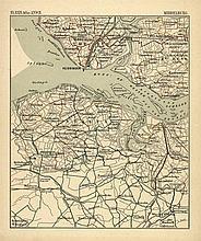[Atlases]. Koolhoven, A. Wielrijders-atlas van Nederland. Op de schaal van